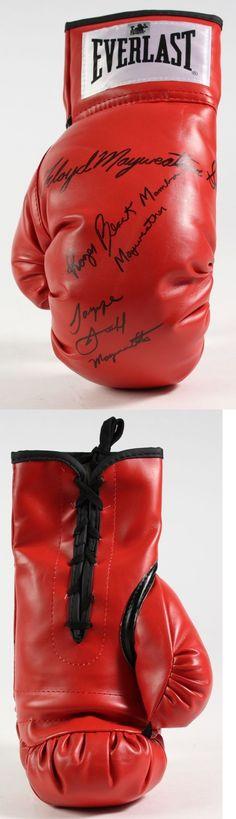 Boxing 1227: Everlast Boxing Glove Signed Floyd Mayweather Sr., Roger And  Jeff Mayweather