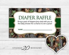 Gaming business card gaming standard business cards pinterest business cards instant download camo baby shower games by studio20designs these printable realtree inspired camouflage diaper raffle reheart Images