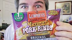 Today, I'm reviewing Lowrey's Bacon Curls Microwave Pork Rinds. WTH?