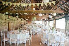 rustikale Location für die Hochzeitsfeier