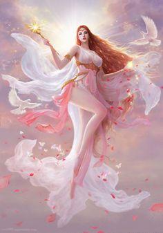 Ideas for anime fantasy art fairies Fantasy Girl, Chica Fantasy, Fantasy Art Women, Beautiful Fantasy Art, Beautiful Fairies, Fantasy Images, Fantasy Warrior, Fantasy Artwork, Warrior Angel