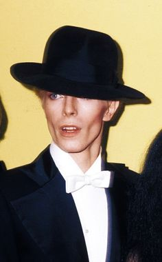 David Bowie at the Grammys, 1975