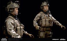 3d Model Character, Single Player, Badass Women, Modern Warfare, Call Of Duty, Military, Devil, Video Game, Models