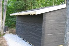 the side yard, backyard, or in the rear setback; but never over the septic field. Included in their Prefabricated Sheds, Shed Construction, Modern Shed, Shed Building Plans, Shed Kits, Wood Shed, Backyard Sheds, Storage Shed Plans, Roof Styles