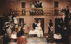 Taming of the Shrew by William Shakespeare February 1992 Flint Central High School Theatre Magnet Studio Theatre Scenic Design and Stage Direction by Martin W. Jennings Lighting Design by Paul M. Schmidt