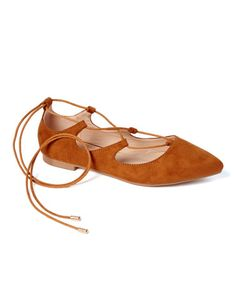 Loving this Camel Rylee Flat on #zulily! #zulilyfinds