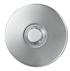 NuTone PB41LSN Wired Lighted Door Chime Push Button, Round, Satin Nickel Stucco Finish Broan http://www.amazon.com/dp/B001PO9G6E/ref=cm_sw_r_pi_dp_5CUfub1Y6TEN1