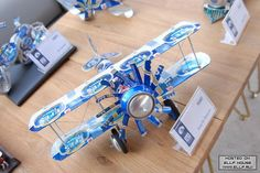 Airplane made of beer can