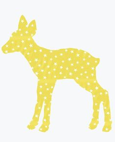 Vintage Fawn Wallpaper Decal | Hanna Home