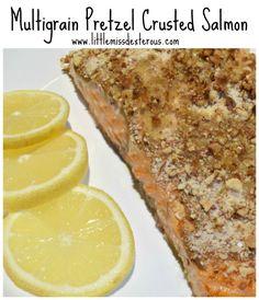 pretzel salmon