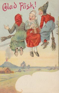Swedish Easter Witches