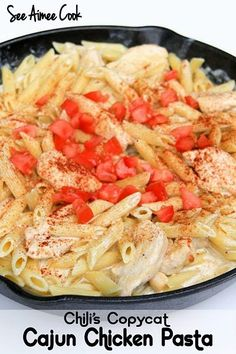 Cajun Chicken Pasta (Chili's Copycat)