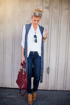 FALL PROPORTIONS: THREE TIPS FOR STYLING A LONG VEST