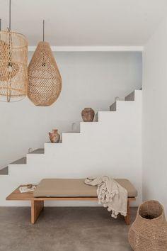 Bali Interiors- Villa Lane- Canggu- Homewares Home Interior, Interior And Exterior, Natural Interior, Exterior Paint, Dream Home Design, House Design, Living Room Decor, Bedroom Decor, Villa
