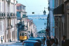 Lisbon is the capital and the largest city of Portugal. Its urban area extends beyond the city's administrative limits, being the . Oh The Places You'll Go, Places Ive Been, Street Look, Street View, Portugal Country, Street Names, To Go, Old Things, Europe