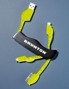 Brunton's Power Knife: A Tidy Trio of Charging Cables