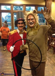 Lion and Lion Tamer Couples Halloween Costume