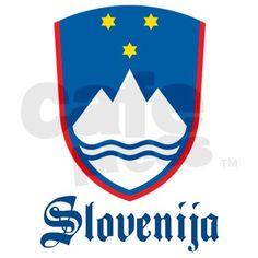 Slovenia Decal Sticker (Rectangle) on CafePress.com