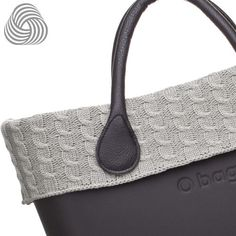 Twisted Wool Trim - Grey - O Bag Accessory