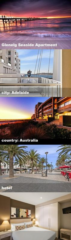 Glenelg Seaside Apartment, city: Adelaide, country: Australia, hotel Seaside Apartment, Australia Hotels, Tour Guide, Tours, Mansions, Country, House Styles, City, Mansion Houses