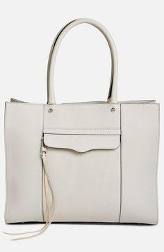 bd367519b142 Rebecca Minkoff  Medium MAB   Leather Tote soft leather  handbags