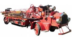 1925 American LaFrance Hook & Ladder Fire Truck. American Automatic Aerial Truck.....