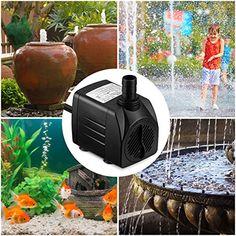 Fish & Aquariums Pet Supplies Romantic Powerful Ultra Quiet Submersible Water Pump Aquarium Fish Pond Hydroponics Aromatic Flavor