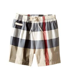 burberry baby swim shorts