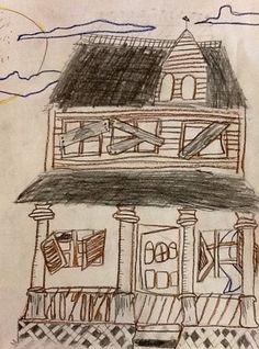 Avery3225's art on Artsonia / HAUNTED HOUSE
