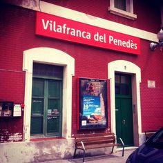 RENFE Vilafranca del Penedès en Vilafranca del Penedès, Cataluña