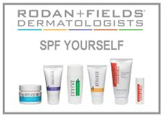 Do you speak SPF?  If not, now's the time to learn.  Protect your skin from the sun's damaging rays.  Sadly, sun tans are not our friends.  But, sunscreens are!  Whatever your skin type, there's a Rodan+Fields sunscreen for you!  From our Essentials Lip Shield with SPF 25 to our Reverse Sunscreen with SPF 50+, all our sunscreens have earned the Skin Cancer Foundation Seal of Approval!  http://cmay1.myrandf.com