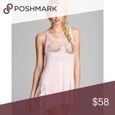 Sale! Wildfox NWT shells sundress! So soft and cute sundress! Perfect for summertime fun! Wildfox Dresses Mini