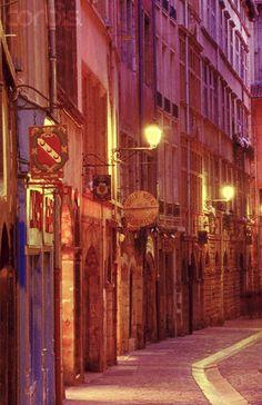 Rue Juiverie in Old Lyon