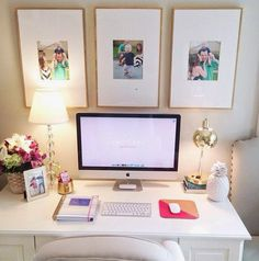 Home Office Inspiration Home Office Space, Home Office Decor, Office Ideas, Desk Space, Office Workspace, Office Spaces, Apartment Office, Study Space, Study Desk