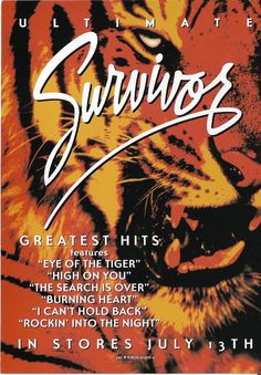 Ultimate Survivor, Press Card Band handed Out on Tour For CD Release on 9/13/04