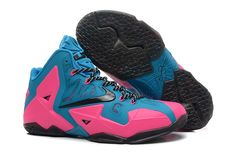 http://www.cheaplebrons11.org / cheap lebron 11 pink blue