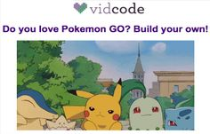 The Library Voice: Build Your Own Pokemon GO Augmented Reality Project With VidCode!