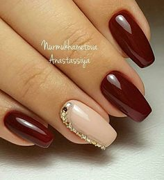 Здесь собраны самые лучшие идеи маникюра  И не только... @manicure_nogti_idei @manicure_nogti_idei @manicure_nogti_idei П О Д П И Ш И С Ь ! ♥ Elegant Nails, Stylish Nails, Gel Nails, Acrylic Nails, Fall Nail Colors, Dream Nails, Fall Nail Designs, Fancy Nails, Gorgeous Nails