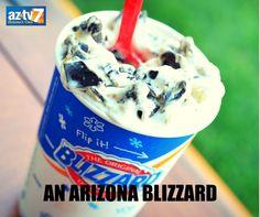 An #Arizona blizzard...sweet and refreshing! #JonasStorm #ArizonaWeather