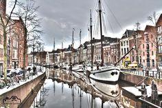 Groningen, Hoge der Aa, HDR-foto