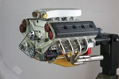 For anyone interested in machining very impressive 1/4 scale V8 engines.