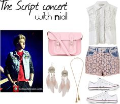 """""""The Script concert"""" by oned-outfits ❤ liked on Polyvore"""