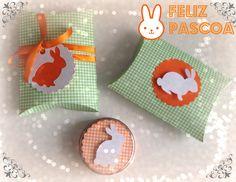 caixinha travesseiro/pillow box pascoa/ happy easter