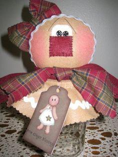 Gingerbread Candy Jar E-pattern