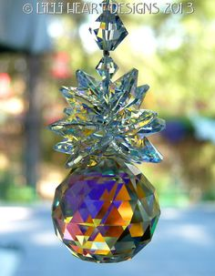 Made+with+Swarovski+Crystal+Suncatcher+Aurora+by+LilliHeartDesigns,+$25.99