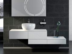 Meuble sous-vasque sur pieds avec tiroirs PETER PAN | Meuble sous-vasque - Regia