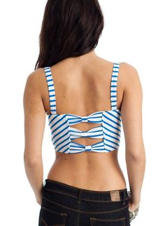 striped crop top $18.40