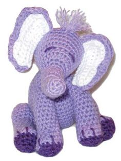 937a20fee3b4 Crochet - Holiday   Seasonal Patterns - Easter Patterns - Ellie the Elephant
