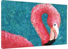 Presenting a new art piece from My Island, we are crazy about this bright pink Flamingo of the Keys Giclee Wall Art available in 2 large sizes.