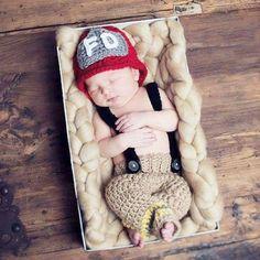 891abf74b71 Crochet Baby Fireman Firefighter Helmet Hat Beanie Pants Overalls Costume  Set Newborn Infant Photography Photo Prop Handmade Baby Shower Gift